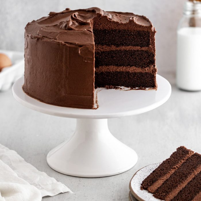 Learn How to Bake Classic Chocolate Cake with Buttercream Frosting